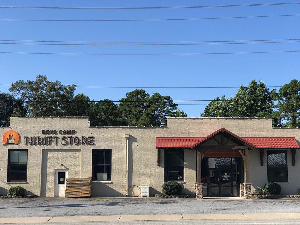 Boys Camp Thrift Store in Seneca, SC
