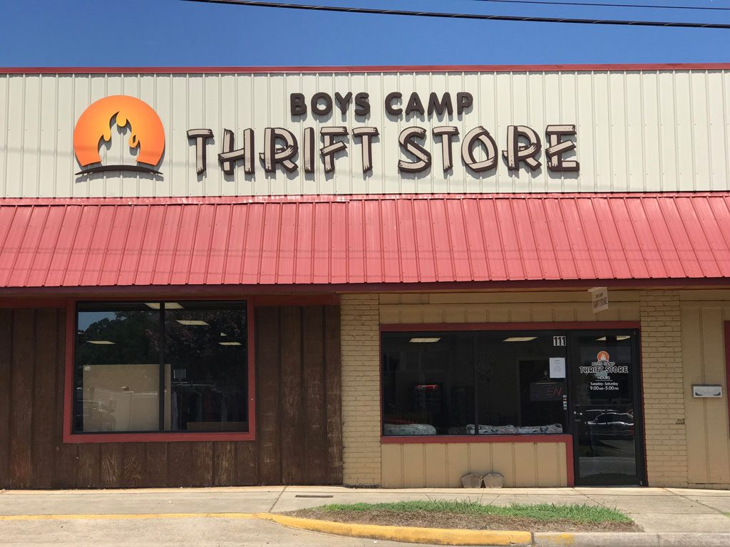 Boys Camp Thrift Store in Westminster, SC