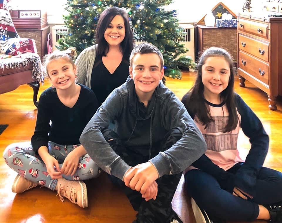 Braeden and his family