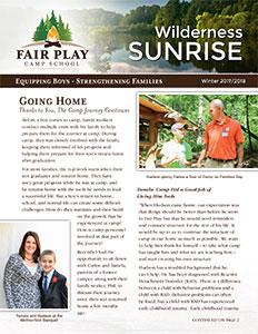 Newsletters - Fair Play Camp